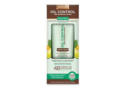 Oil Control Pre-Shampoo-Scrub for oily roots